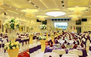 Lắp đặt âm thanh tại nhà hàng tiệc cưới Minh Hồng