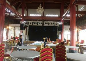 550 triệu | Hệ thống âm thanh hội trường tiệc cưới Hải Phòng