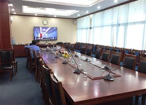 Bộ Âm Thanh Phòng Họp Bosch CCS900 tại Trung Tâm Nước Quốc Gia