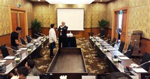 Hệ thống âm thanh phòng họp restmoment rx-3000v tại Khách sạn Melia Hà Nội