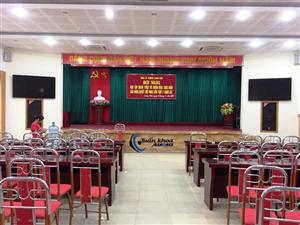 65 triệu | Hệ thống âm thanh hội trường UBND Giang Biên