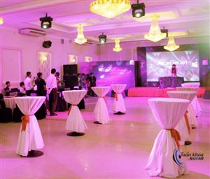 Lắp đặt âm thanh cho nhà hàng tiệc cưới Callary