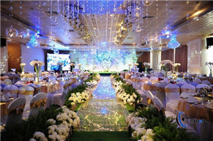 Dự án âm thanh ánh sáng trung tâm tiệc cưới Queen Plaza Kỳ Hòa