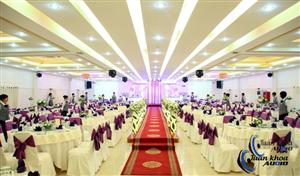 Lắp đặt Âm Thanh Hội Trường Tiệc Cưới Khách Sạn Wyndham Legend