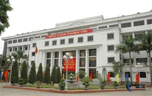 Hội trường Học viện Chính trị Quân sự