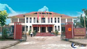 Phòng họp UBND huyện Minh Hóa
