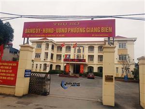 Lắp đặt âm thanh hội trường, âm thanh phòng họp UBND phường Giang Biên